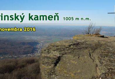 Sninský kameň 1005 m n.m.